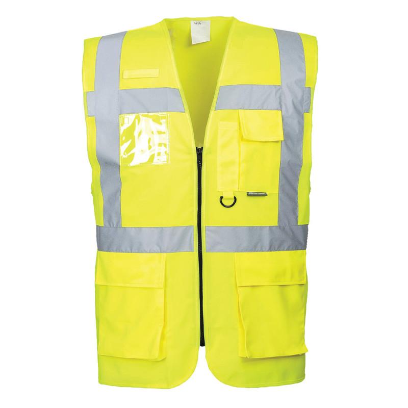 Security 100% puuvilla tai 100% mikrokuitu valkoinen unisex pitkähihainen kokin takki.