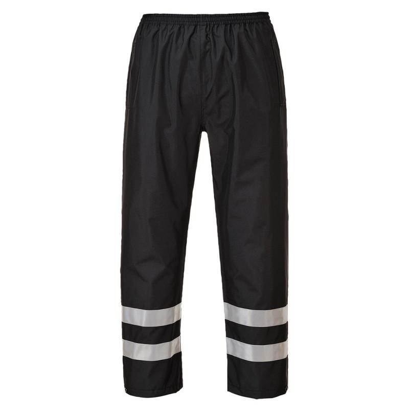 Coulisse valkoinen kokin housut 100% puuvilla