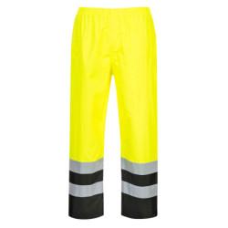 Coulisse musta kokin housut 100% mikrokuitu