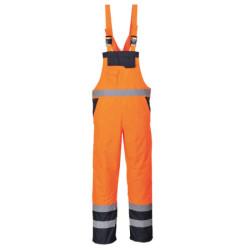 Coulisse violetti kokin housut 100% puuvilla